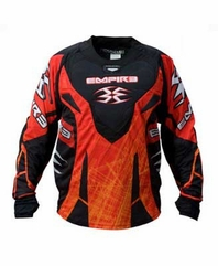 Empire ZE 2011 LTD Jersey - Red Scratch