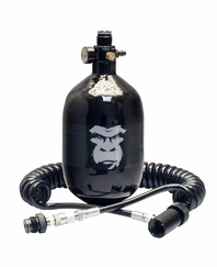 Guerrilla Air 48ci 4500 psi HPA Tank and Coiled Remote Combo
