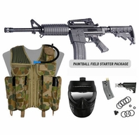 Small Tactical Paintball Field Starter Package (Magazine Fed)