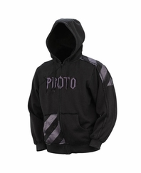 Proto 09 Arthur Hooded Sweatshirt - Black