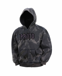 Proto 09 Arthur Hooded Sweatshirt - Grey