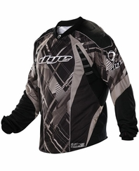 Dye 2012 Paintball Jersey - Gray Chevron