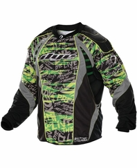 Dye 2012 Paintball Jersey - Lime Tiger