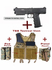 Pistol and Vest Package for Tippmann TPX
