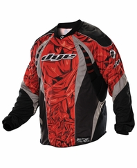 Dye 2012 Paintball Jersey - Red Cloth