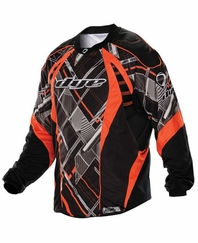 Dye 2012 Paintball Jersey - Red Chevron