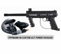 Tippmann 98 Custom Platinum Series ACT Power Package