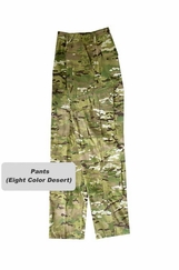 Eight Color Desert Camo BDU Pants