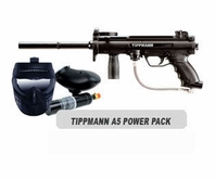 Tippmann A-5 Paintball Marker Basic Power Package