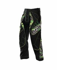 Dye 2012 Paintball Pants - Lime Tiger