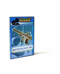 TechT Paintball Marker Maintenance DVD - Autococker 101