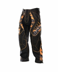 Dye 2012 Paintball Pants - Orange Tiger