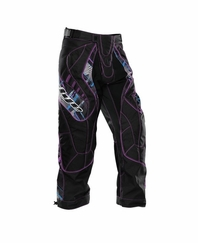 Dye 2012 Paintball Pants - Purple Chevron
