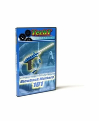 TechT Paintball Marker Maintenance DVD - Blowbacks 101