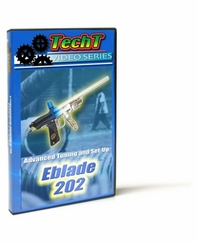 TechT Paintball Marker Maintenance DVD - Eblade 202