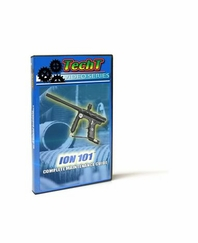 TechT Paintball Marker Maintenance DVD - Ion 101