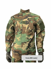 Fusion BDU Jacket (German Flecktarn)