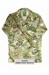 Eight Color Desert Camo BDU Jacket