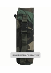 1 x 140 Round Paintball Pod MOLLE Pouch