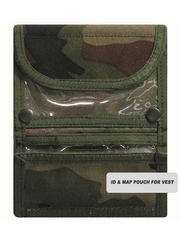ID and Map Pouch for Tactical Ten Paintball Vest