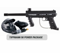 Tippmann 98 Custom Platinum Series without ACT Basic Power Package