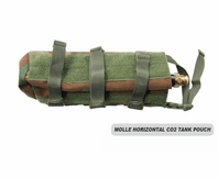 MOLLE Horizontal CO2 Air Tank Pouch (Small)