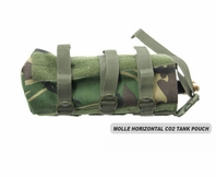 MOLLE Horizontal CO2 Air Tank Pouch (Large)