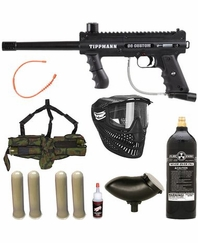 Tippmann 98 Custom Platinum Series Paintball Gun Marker Mega