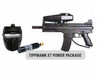 Tippmann X7 Paintball Marker with Electronic Trigger Basic Power Package