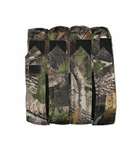 Vertical 4x MOLLE Paintball Pod Pouch
