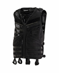 Dye Tactical MOLLE Paintball Vest - Black - X-Large/ 2X-Large