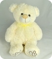 "#WC40<BR>12"" CREAM TEDDY BEAR"