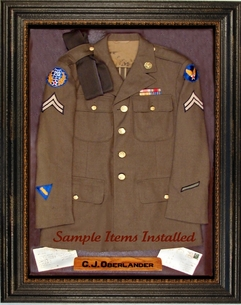 Military Uniform Display Case : shadow box military uniform - Aboutintivar.Com