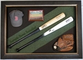 Baseball Bat Display Case Dual Bats