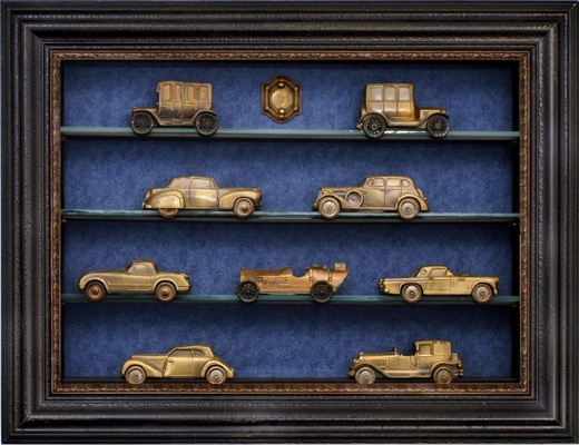 Classic Model Car Display Case