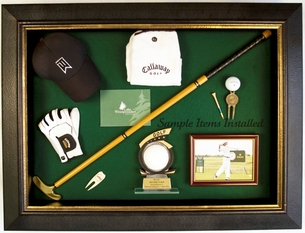 Golf Display Case Tournament Series