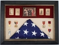 "Military Retirement Display Case <br> Medium Size 28""x 20"""