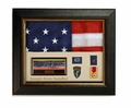 "Military Shadowbox Awards Display Case <br> Compact Size 16""x 20"""