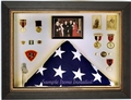 Military Display Case Classic Shadow Box