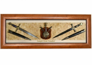 Sword & Dagger Display Case