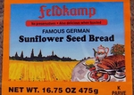 Feldkamp Sunflower Seed Bread