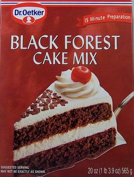 Dr. Oetker Black Forest Cake Mix