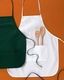 Personalized Custom Embroidery Apron by Big Accessories 2-Pocket 24""