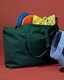 Canvas Zippered Book Tote - Promotional Tote for Company Logo