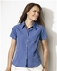 Embroidered Ladies' Cubavera Shadowbox Woven Camp Shirt
