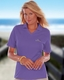 Ladies V-Neck Pique Polo Corporate Logo Shirts
