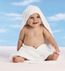 Rabbit Skins Infant Hooded Towel and Washcloth Set