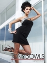 Tony Bowls Short Black Dress 11283