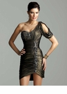 2012 Clarisse One Shoulder Dress 2045