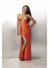 Orange or Purple  Prom Dress 17148
